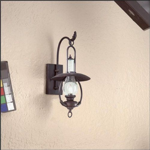 Troy Lighting BCD9010OBZ Grange Medium Outdoor Sconce, Old Bronze By Troy.  $281.52. Finish