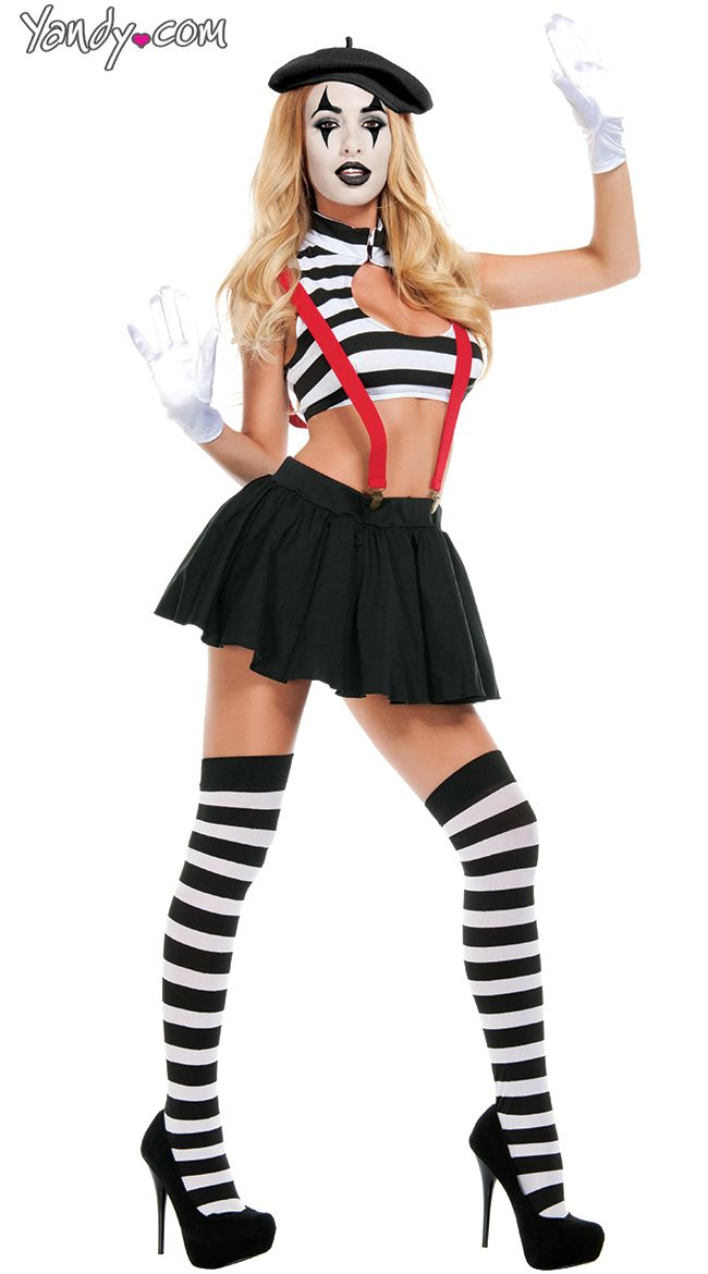 hot mime costume sexy mime costume french mime costume - Mime For Halloween