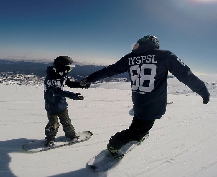 Dads make the best board buddies! Tech Hoodies by Indyslopestyle