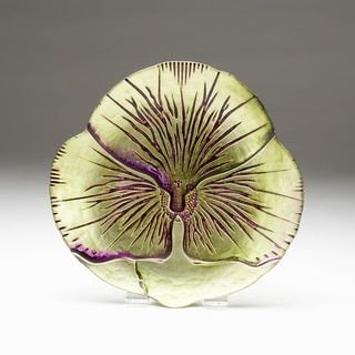 Shop for Pansy Green/ Purple Side Plate. Free Shipping on orders over $45 at Overstock.com - Your Online Kitchen
