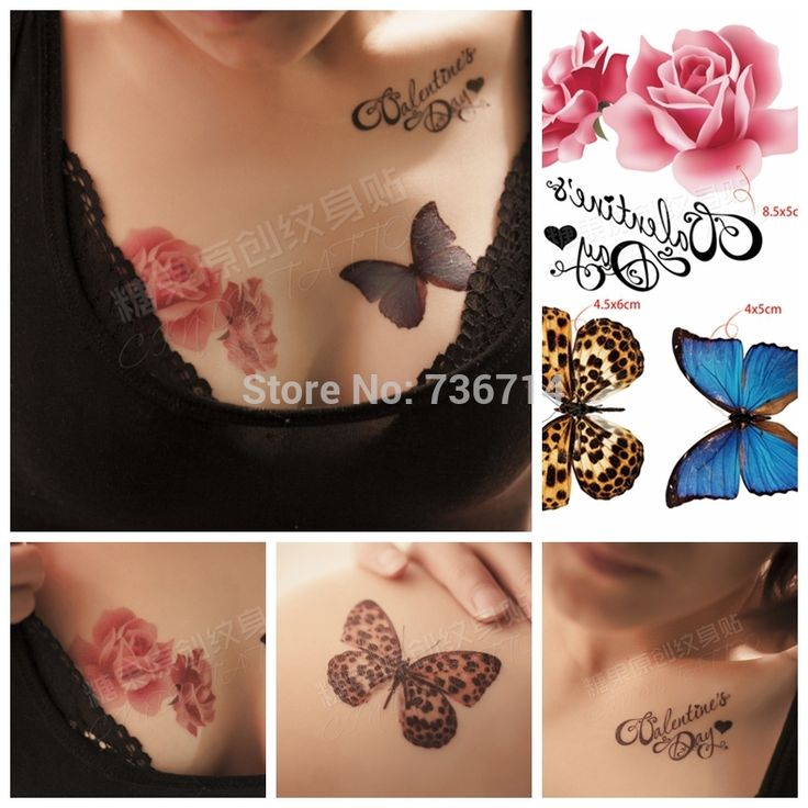 18 Best Butterfly Front Shoulder Chest Tattoo Images On