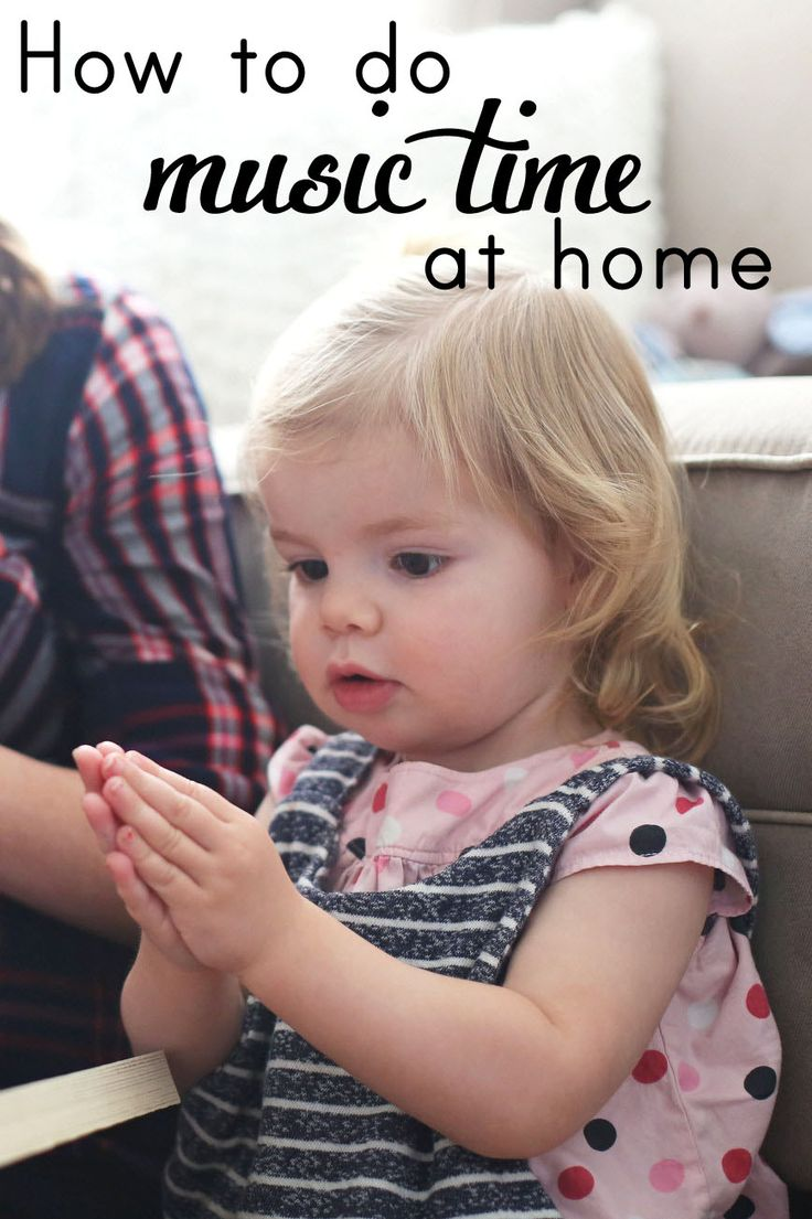 Tips and songs for doing a simple music time with your toddler