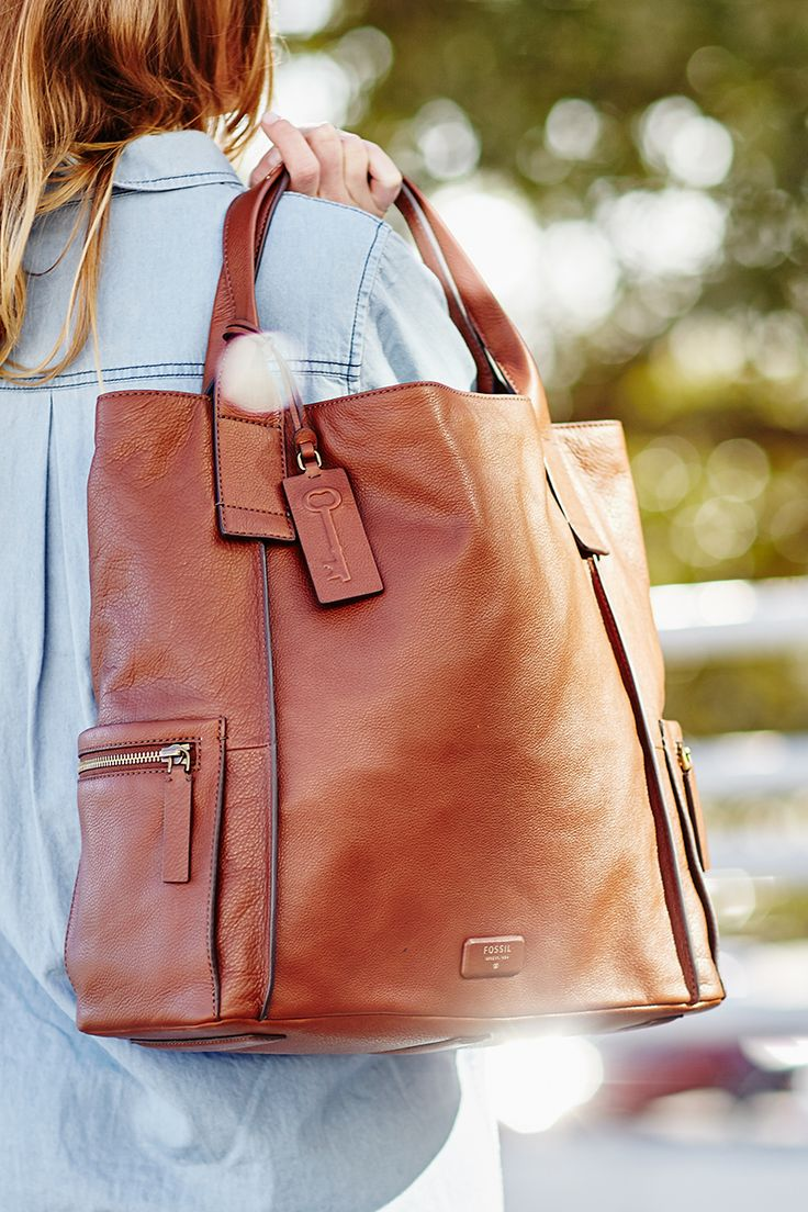 Throw an Emerson Satchel handbag over your shoulder and you can accomplish just about anything.