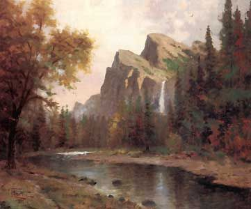 Yosemite Valley - Thomas Kinkade - World-Wide-Art.com - $870.00 #Kinkade