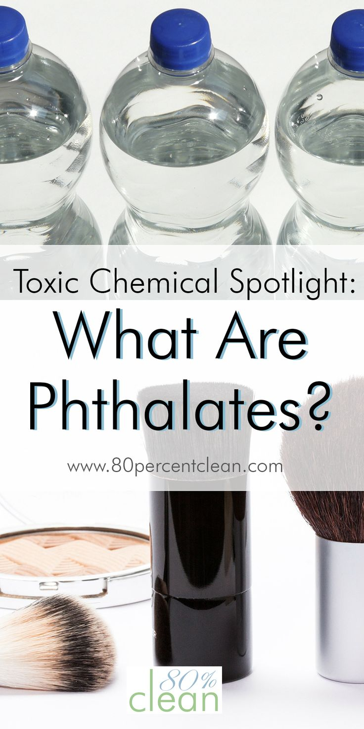 What are phthalates? What are products containing phthalates? I had no idea until I read this. Very interesting... and kinda scary!