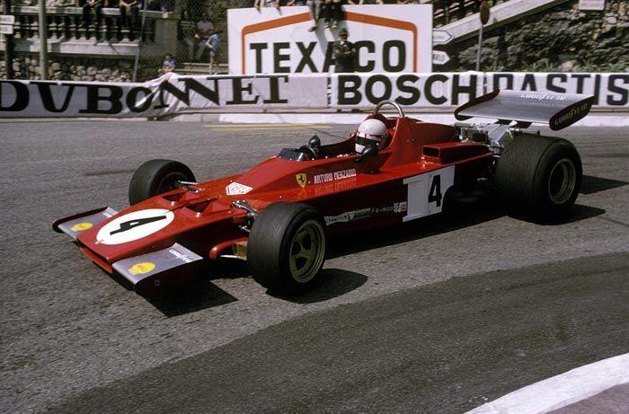 1973 GP Monaco (Arturo Merzario) Ferrari 312B3