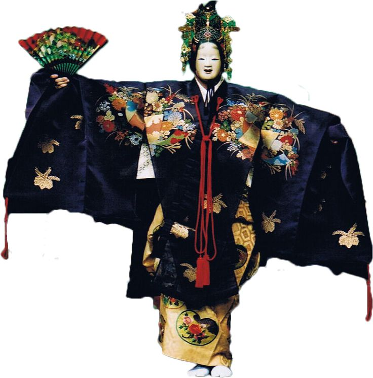 Noh - Noh is the oldest of Japan's theatrical arts. It is a comprehensive art form, embodying not only music, dance and literary art, but also sculpture, dyeing and weaving, and construction arts.