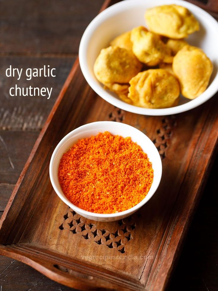 dry garlic chutney recipe with step by steps. spicy and piquant flavored is this chutney made from garlic and coconut. this is a maharashtrian recipe of dry garlic chutney also known as lasun khobra chutney. it takes about 15 to 20 minutes right from start to finish to make this chutney. so its very easy and less time taking.