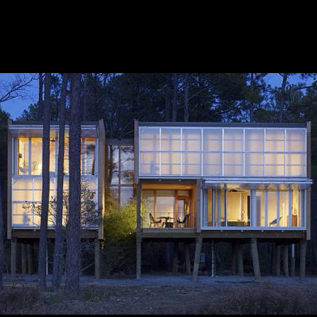 Cottage On Stilts By Andersson Wise Architects: Best 25+ House On Stilts Ideas On Pinterest