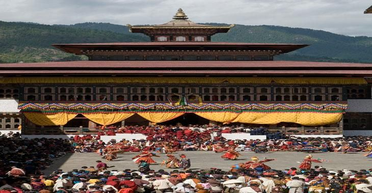 Thimphu Tshechu | Tourism Council of Bhutan (Official Website)