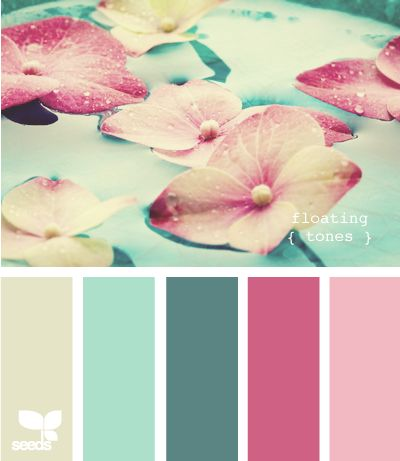 floating tones  Color Palette - Paint Inspiration- Paint Colors- Paint Palette- Color- Design Inspiration