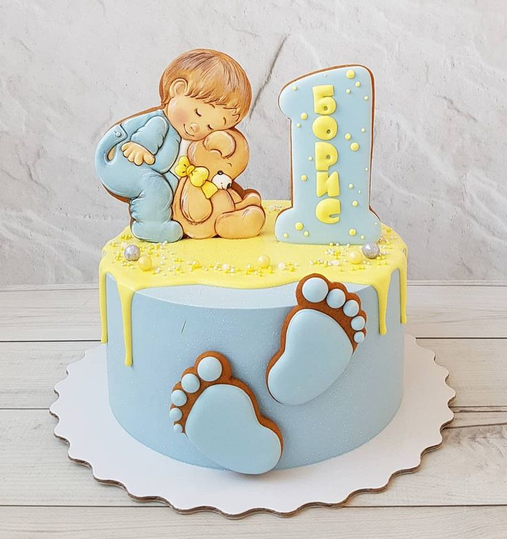 Торт на годик картинка