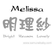 melissa origin name | artistic expressions of creating symbolic meaning for an English name ...