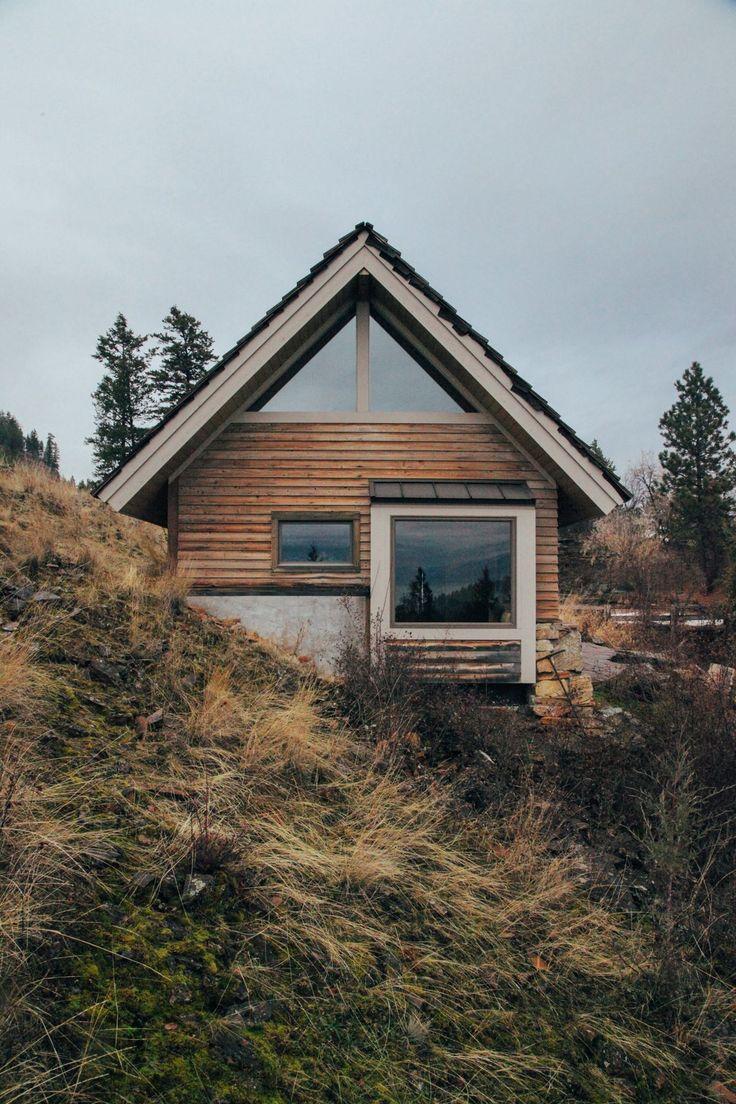 1376 best dream tiny house living images on pinterest for Modern log cabin homes