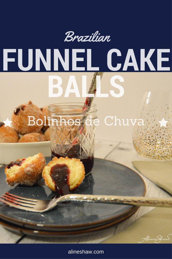 Bolinhos de Chuva | Funnel Cake | Cake | Fried | Breakfast | Holidays | Easy Recipe | Food | Brazilian Recipes | Brazilian Food | Sweets