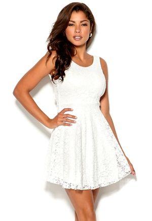 Chiara Forthi - Celinne Dress - Cremewhite -Bubbleroom.no
