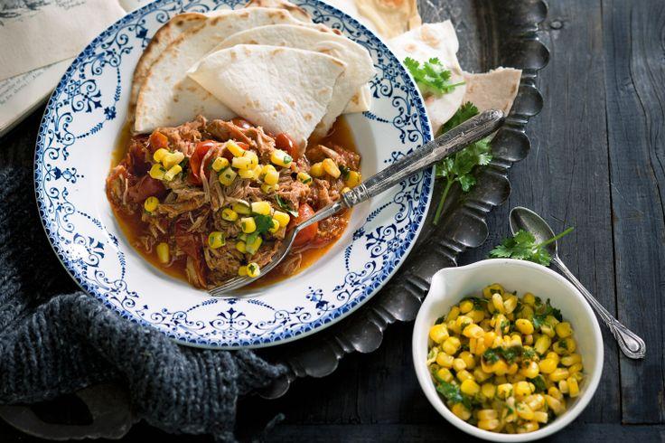 Mexican pork chilli recipe.