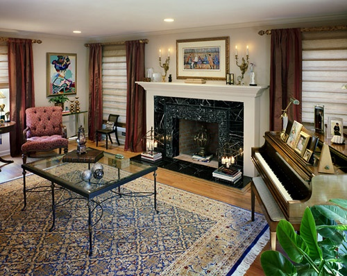 Low Ceiling Fireplace Family Room Pinterest Low
