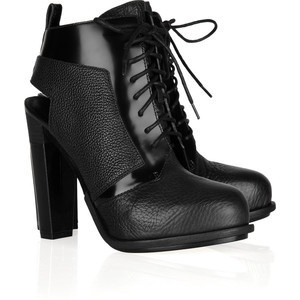 Alexander Wang Dacota Lace Up Unkle Boots,brand New