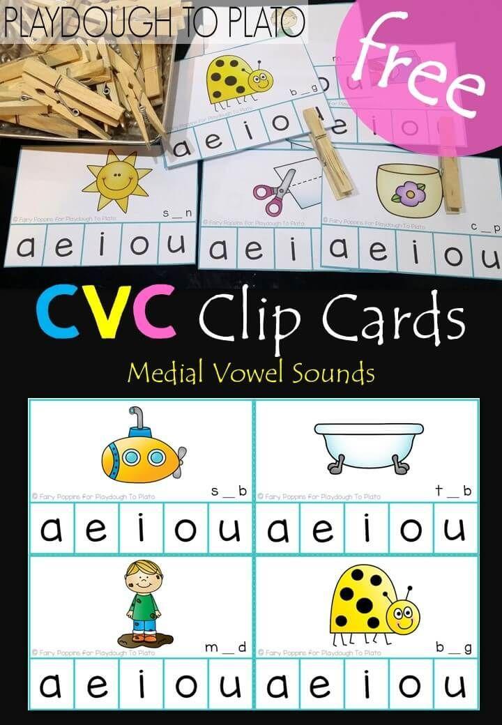 Christmas lights vowel sort vowel activities phonics
