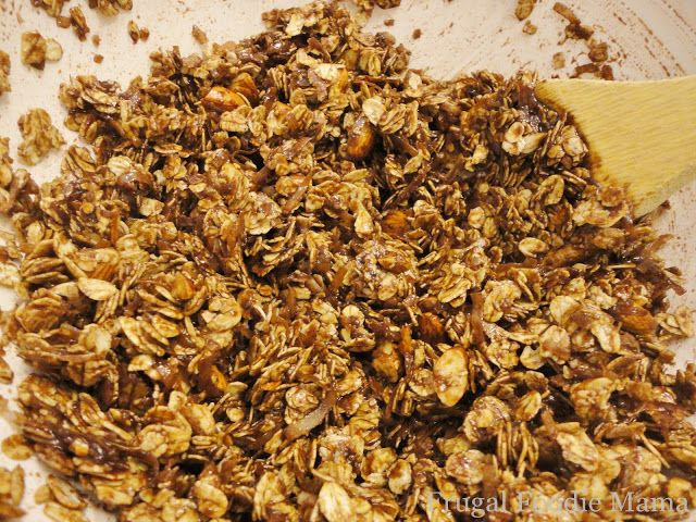 Frugal Foodie Mama: Mounds of Almond Joy Granola