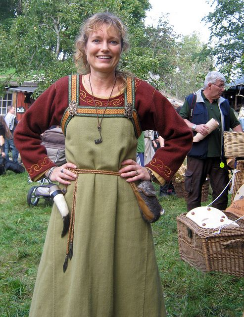Luxury The Vikings  Vikings Family Viking Linen Dresses