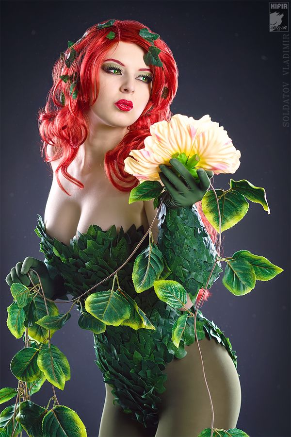 Poison Ivy Cosplay by Kifir