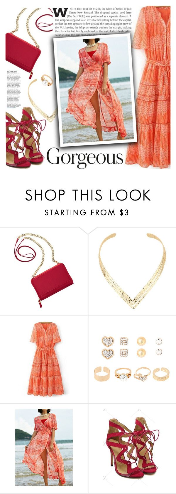 """She is gorgeous!"" by ansev ❤ liked on Polyvore featuring TravelSmith, Anja and zaful"