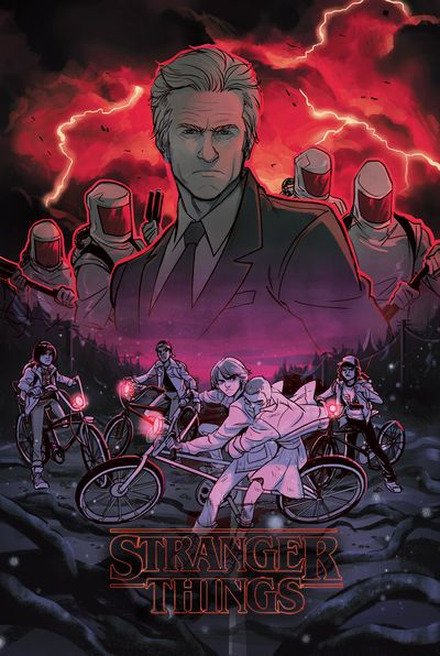 TFAW exclusive cover and a look inside Stranger Things #1 comic