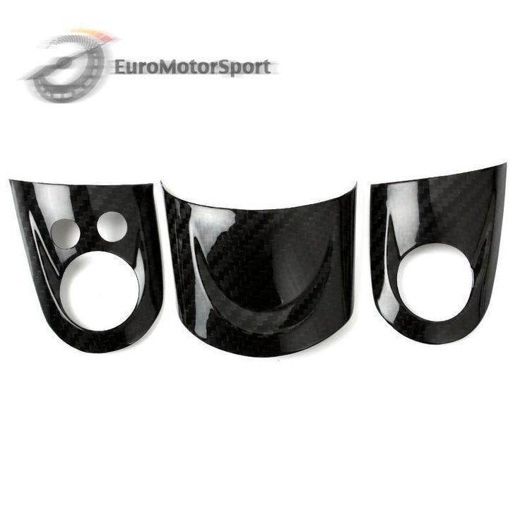 * For Mini Cooper R55/R56/R57 Carbon Fiber Steering Wheel Cover Set #UnbrandedGeneric