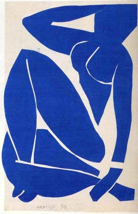 Matisse blue nude i
