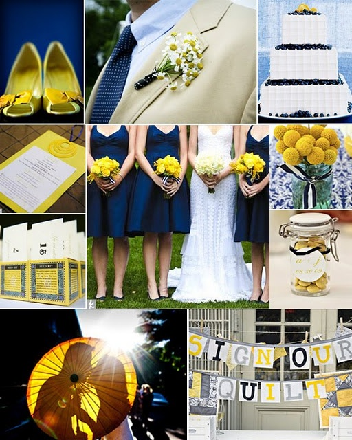 Navy Blue And Yellow Images On Pinterest