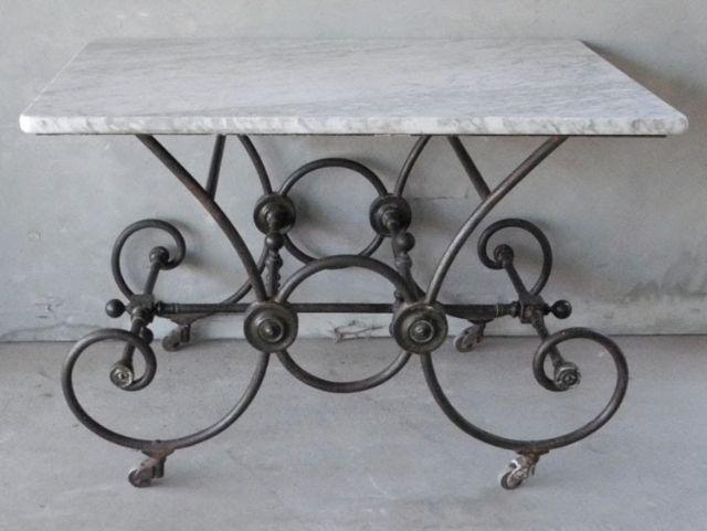 French Table De Boucherie, C.