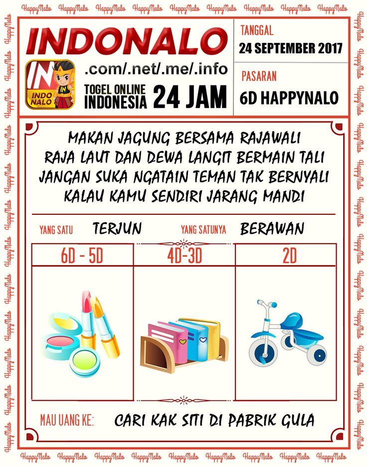Wangsit 3D Togel Wap Online Kupon HappyNalo 24 September 2017