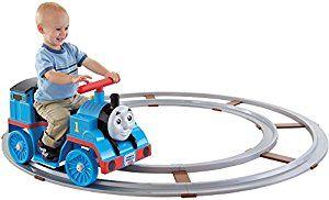 Amazon.com: Power Wheels Thomas the Train Thomas with Track [Amazon Exclusive]: Toys & Games