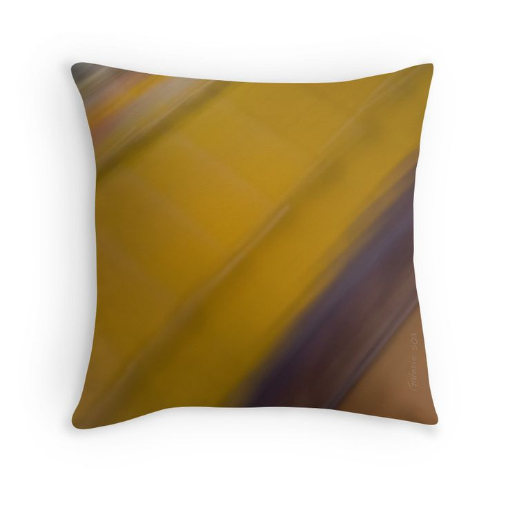 Abstract Railway Throw Pillows by Galerie 503