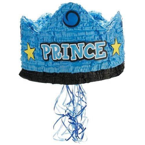 "Prince Crown 13"" Pull-String Pinata Party Supplies BirthdayExpress http://www.amazon.com/dp/B00475FIHY/ref=cm_sw_r_pi_dp_4HRStb0VVBY6FCTN"