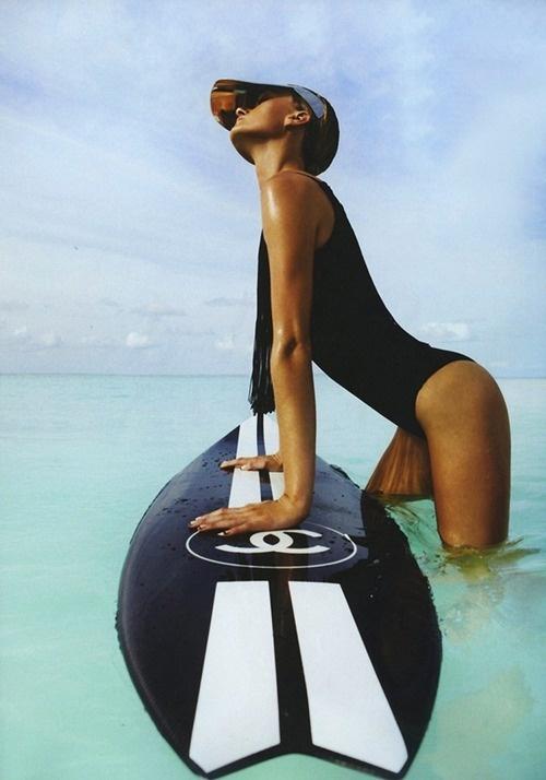 #ranitasobanska #sportfashion Chanel sports luxe