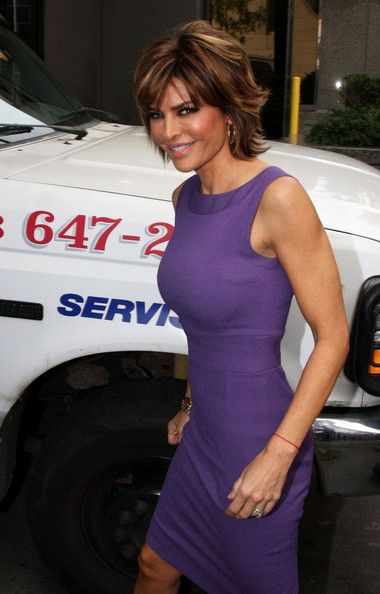 "Lisa Rinna in Cast members arrive for ""The Celebrity Apprentice"""