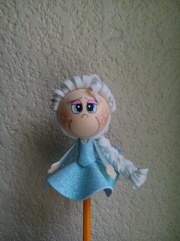 fofulapiz Elsa Frozen