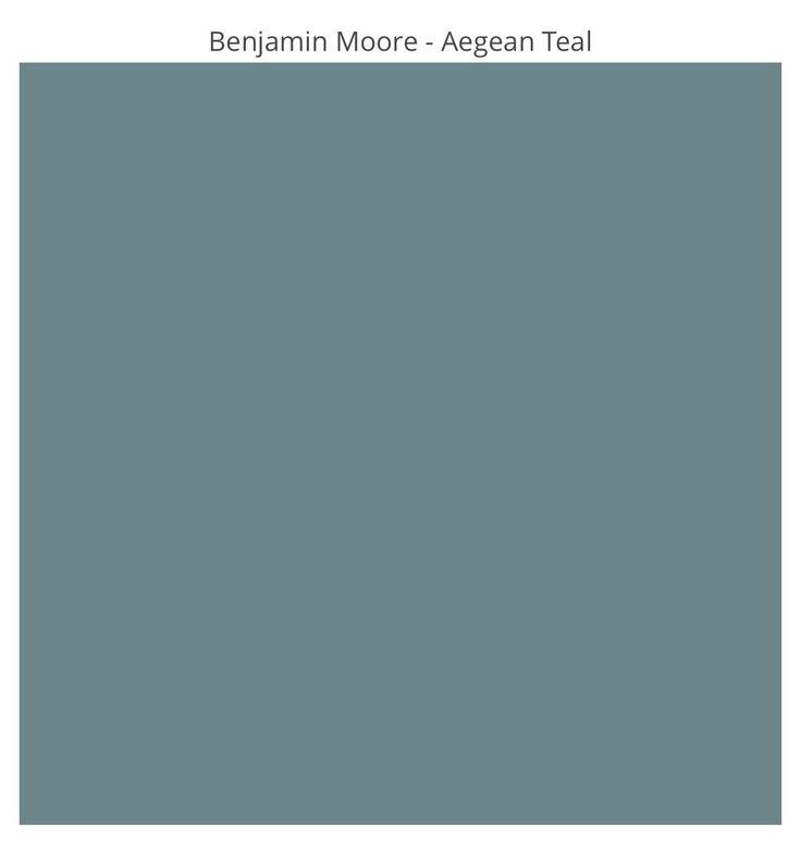 Benjamin Moore – Aegean Teal