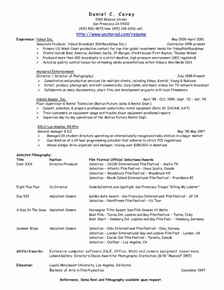 Resume For Someone With No Experience