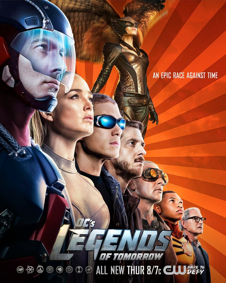 DC's Legends of Tomorrow go on an epic race against time in a new episode, TONIGHT at 8/7c!