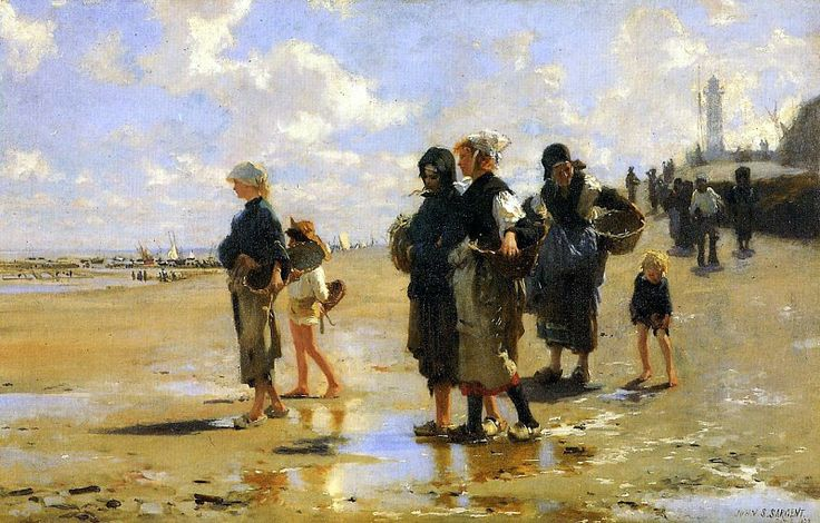 The Oyster Gatherers of Cancale 1878. Джон Сингер Сарджент
