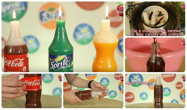 Come fare candela Coca Cola, Fanta e Sprite – Tutorial