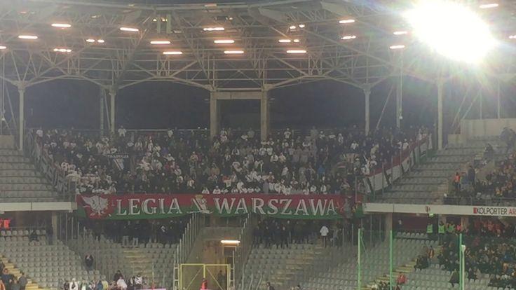 E: Korona Kielce - Legia Warszawa. [Legia fans] 2017-11-25