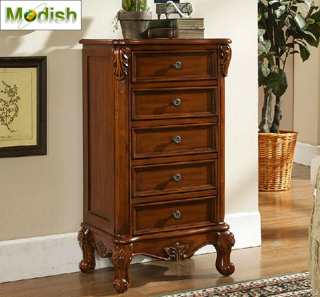 Solid Wood 5 Drawers Chest China Furniture Online Wholesale .