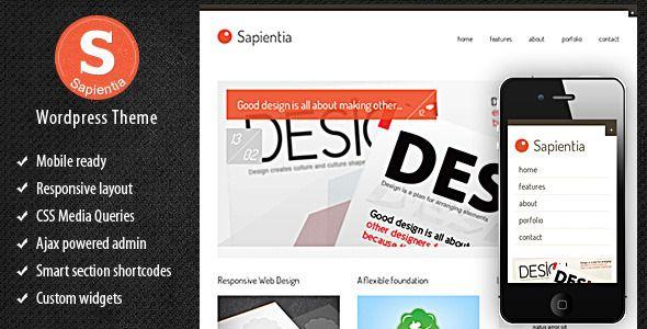 Sapientia Wordpress Theme
