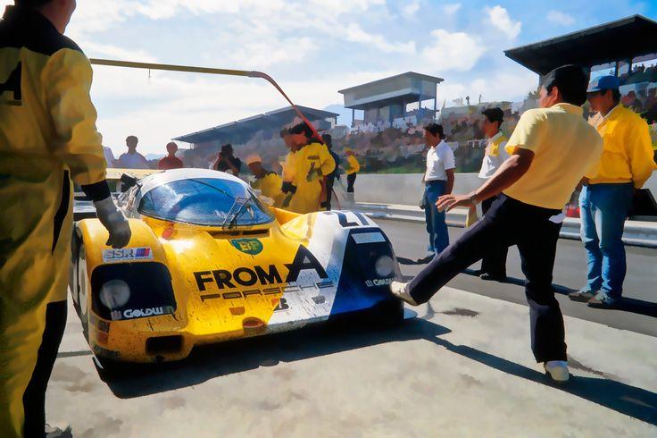 IB TREBBIEN – From A Porsche 962