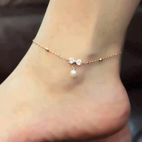 e7886893e Thoughts on ankle jewelery .. I like it.